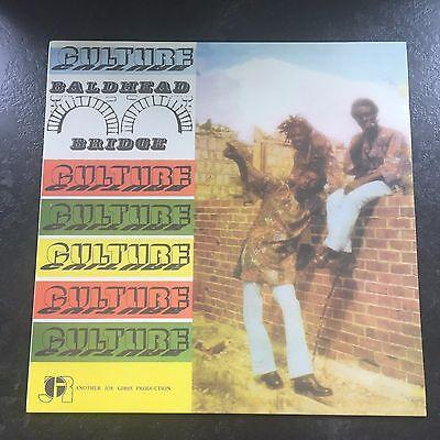 CULTURE - BALDHEAD BRIDGE LP - JOE GIBBS RE-ISSUE - VP4179