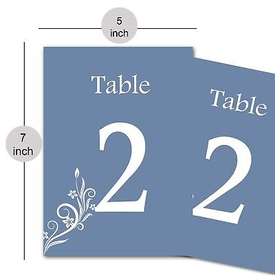 New Design Paper Table Numbers for Wedding, Christmas, Banquet Table Décor-Gray](Christmas Banquet Centerpieces)