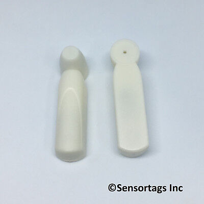 Sensormatic Pencil Tags 58 Khz 1000 Pc With Pins Made In Usa Security Tags Grey