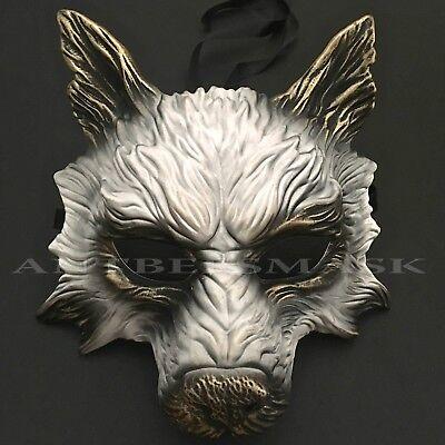 Masquerade Wolf Halloween Costume Haunted House Party Mask](Halloween Costumes Wolf Mask)