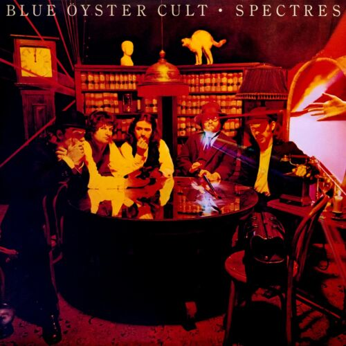 BLUE OYSTER CULT Spectures BANNER HUGE 4X4 Ft Fabric Poster Tapestry Flag art
