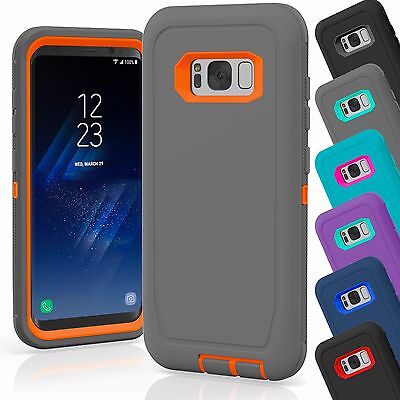 Galaxy Wholesale (15 TPU Hard Defender Hybrid Case Cover Wholesale Lot For Samsung Galaxy S8)