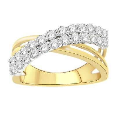 Used, Diamond LAB Grown 1.00Ctw Round Fashion Ring (SZ 7) for sale  Shipping to Canada