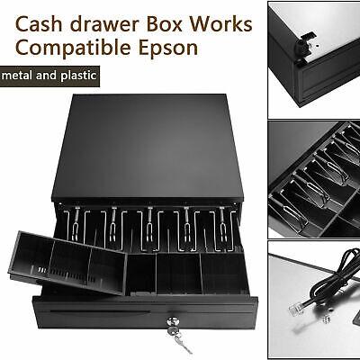 Cash Drawer Register Insert Tray Money 5bill 5coin Cashier Tidy Storage Box
