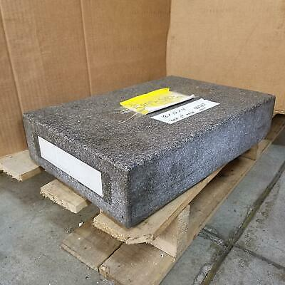 Rock Of Ages 18 X 12 X 4 Granite Surface Plate. - Used