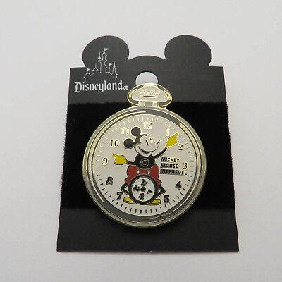 Disney Mickey Mouse on Ingersoll Pocket Watch Pin