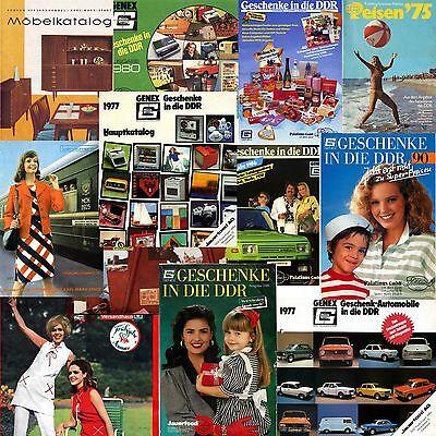 Katalog aus der DDR von KONSUM - GENEX - CENTRUM Werbung Reklame Geschenke VEB