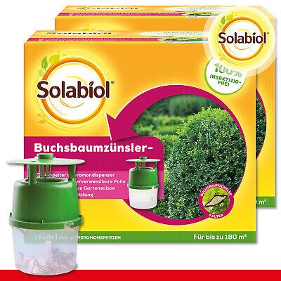 Sbm Solabiol 2 X Buchsbaumzünsler-falle Incl. Per 2 x 1 ML Lockstoff-Spritzen