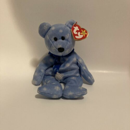 TY Beanie Baby 1999 Holiday Teddy DOB December 25, 1999 - $1.00