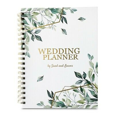 Wedding Planner Book - Gender Neutral - Ideal Engagement Gift for Couples