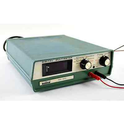 Heath Schlumberger Digital Multimeter Sm-1210