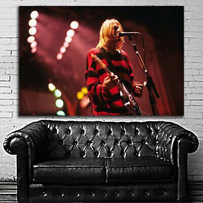 #01 Kurt Cobain Nirvana Rock Music 40x60 inch More Sizes Large Poster Rock Music Poster