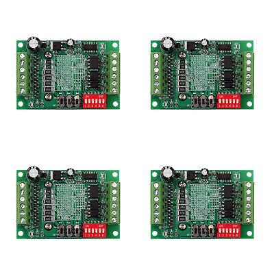 4pcs Tb6560 3a Cnc Router Single 1 Axis Controller Stepper Motor Driver Board Us