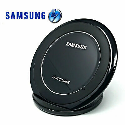 Genuine Samsung Wireless Qi Fast Charger Stand For Galaxy S10 S8 S9 Plus S7 Edge