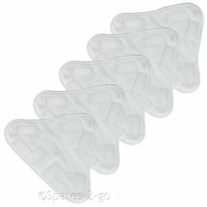 ABODE ASM2001 Steam Cleaner Mop Pads Washable Cleaning Pad Floor Cover x 5
