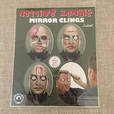 Rotting Zombies Mirror Clings 19 Pieces Council of Monsters! Gore Halloween](Halloween Council)
