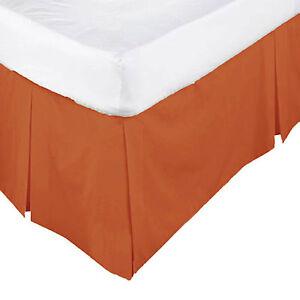 Orange Bed Skirt 27