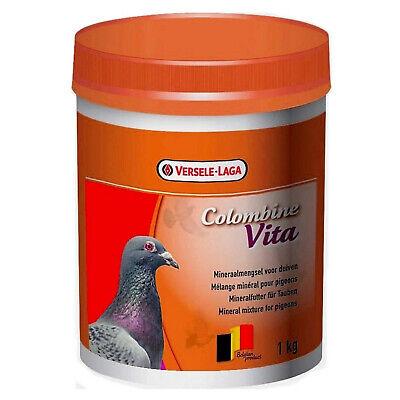 Versele Lage Colombine Vita Pigeon Supplement Birds 1kg Tub Vitamins Minerals