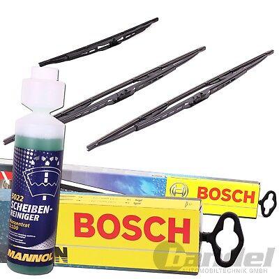 BOSCH TWIN 500 VORNE + Heckwischer H353 + 250ml SCHEIBEN-REINIGER 1:100 - Ersatz Wasser Pan
