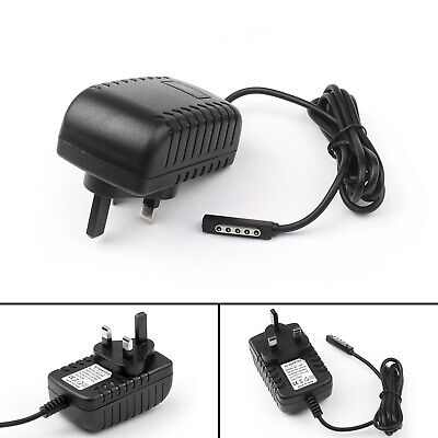 1Pcs 12V 2A AC/DC BK Plug Adapter Power Charger For Microsoft Surface RT/RT2 BK
