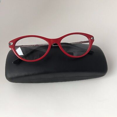 New 100% Authentic Ralph Lauren RL 6099B Red 5310Cat Eye Eyeglasses Frames