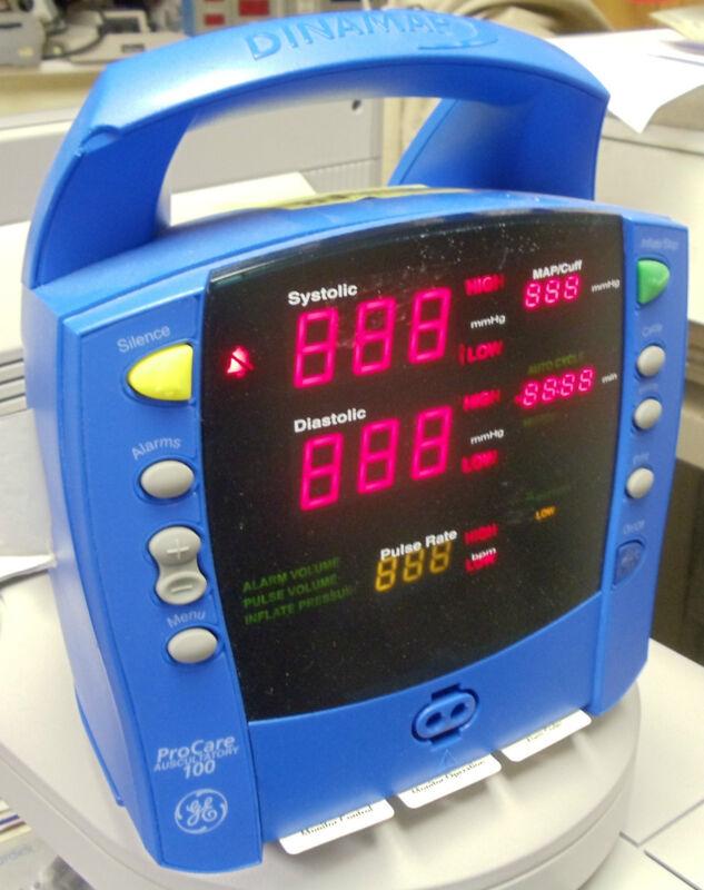 GE Procare 100 BP monitor
