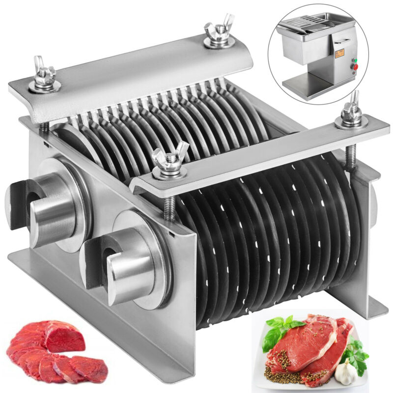 """5MM 0.2"""" Blade Set for Meat Cutting Machine Vevor 0.2""""thickness Meat Cutter"""