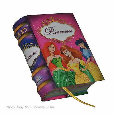 Princesses miniature book readable 440 pages hardcover full color illustrated