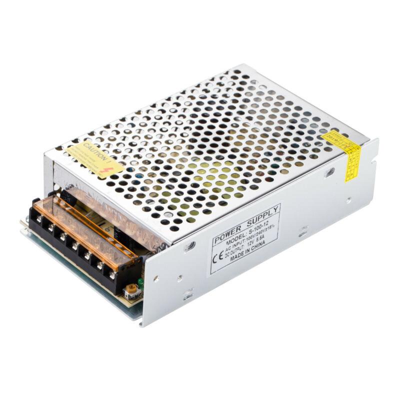 AC 110V/220V to DC 12V 8.5A 102W Volt Transformer Switch Power Supply Converter