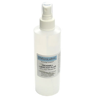 MICROLUBROL 100% Silicone Oil Treadmill Belt, Deck Lubricant Multi-Viscosity 4oz