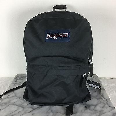 Jansport Superbreak Backpacks Black Bag 100% AUTHENTIC School backpack bags