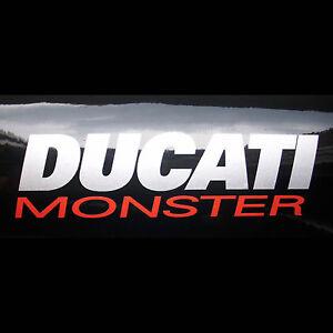 2x Aufkleber Ducati Monster #0318
