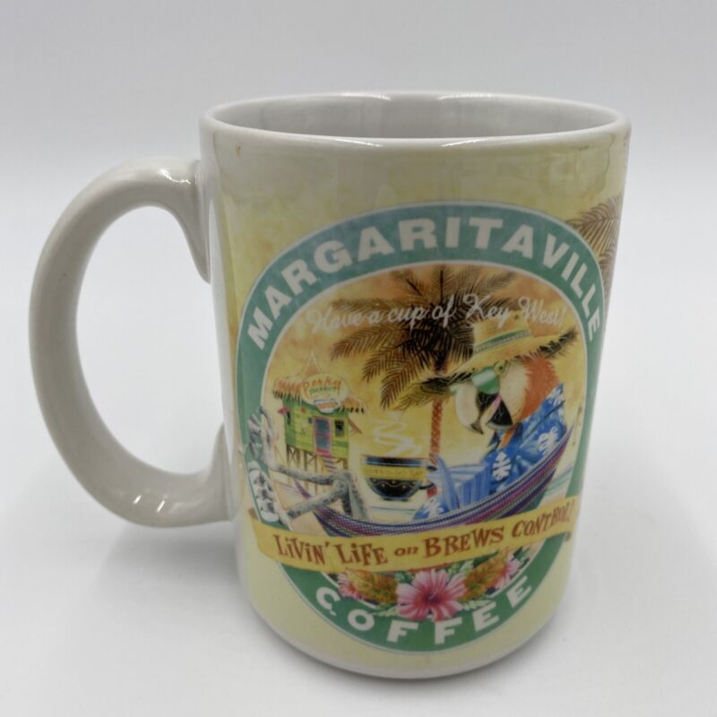 MARGARITAVILLE COFFE MUG « Have a cup of Key West » 2006 Carribean Soul