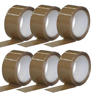Packband 6 Rollen Klebeband Paketband Verschlussband 50mmx66m von Ludwiglacke