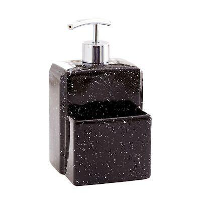 Soap Dispenser with Sponge Holder - Kitchen Sink Caddy Accessory