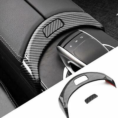 Car Armrest Box Button Frame For Mercedes Benz C Class W205 GLC X253 2015-2020