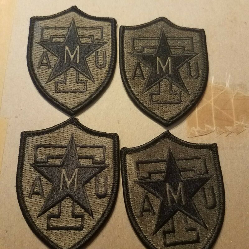 LOT OF 4 Texas A&M College Patch Subdued Aggies Football