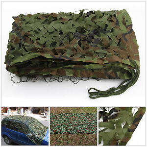4m x 1.5m Camouflage Net Camo Netting Hunting Shooting Hide Army UK Seller