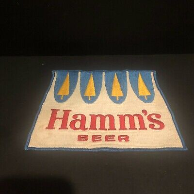 Hamms Beer Back Patch