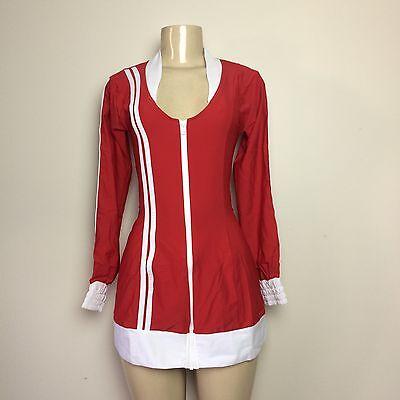 NWT J VALENTINE DA BOMB Hamster Halloween Costume Red White Dress