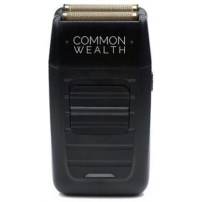 Common Wealth Professional Shaver Cordless Bump Free Gold Pro Foil Barber Shaper