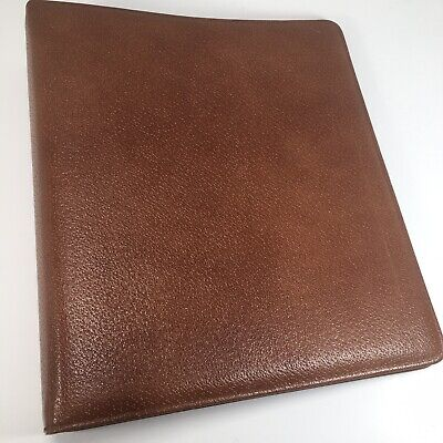 Day-timer Leather Folio Monarch Planner Organizer Binder Fits Franklin Covey
