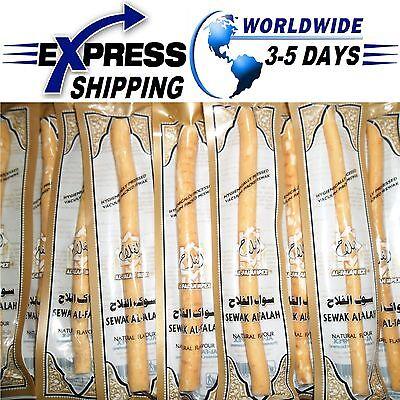 20 X Natürliche Zahnbürste Vakuum Sewak Siwak Meswak Miswak Sunnah Islam Hygiene ()