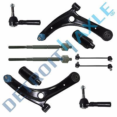 10pc Front Lower Control Arm Sway Bar Kit for Dodge Caliber Jeep Compass Patriot