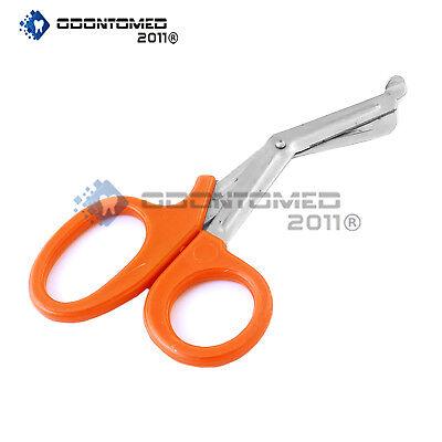Emt Utility Orange Scissor 5.5 Paramedic First Aid Universal Shears Tools