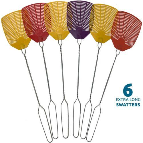 Bug & Fly Swatter – Extra Long Handle– Indoor / Outdoor– Pest Control flyswatter