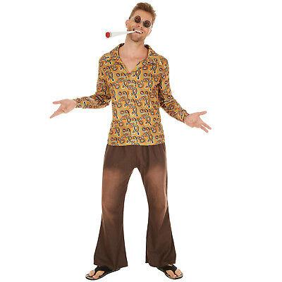 Herrenkostüm Hippie John Kostüm Frauen Karneval Fasching Halloween 70er (Frau Hippie Kostüme)