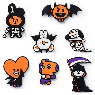 BTS BT21 Official Authentic Goods Silicone Magnet Halloween_with tracking number - Halloween Goods