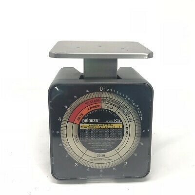 Pelouze Postage Scale Model No. K5 5 Pound Capacity 2006 Usps Rates Pelstar