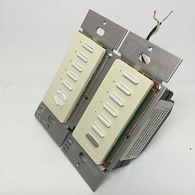 Lutron RadioRA RAMC-10W-RL 10 Button Master Control w Raise Lower - Light Almond